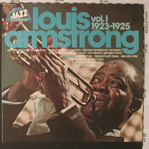 Armstrong,Louis & Orch.: The Jazz Collection Vol.I, 1923-25, BYG(6623 950), D, Foc,  - 2LP - F1146 - 7,50 Euro