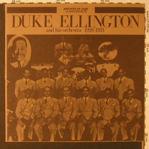 Ellington,Duke & his Orch.: 1928-1933, Ri, ArchiveOfJ(101.571), I, 1971 - LP - F1630 - 6,00 Euro