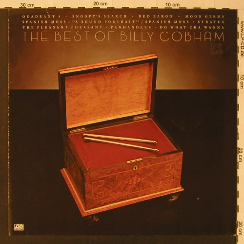 Cobham,Billy: The Best Of, Atlantic(ATL 50 620), D, 1979 - LP - F3595 - 9,00 Euro