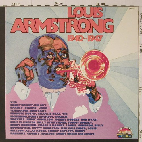 Armstrong,Louis: 1940-1947, Giants Of Jazz(LPJT 64), I, 1986 - LP - F4908 - 5,00 Euro