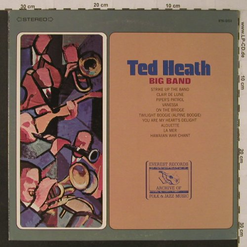Heath,Ted: Big Band, Everest Records(FS-251), US,  - LP - F5659 - 6,00 Euro