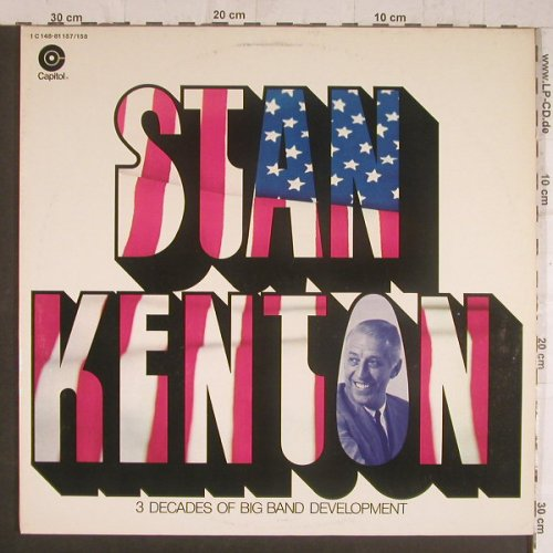 Kenton,Stan: 3 Decades of Big Band Development, Capitol(1C148-81157/158), D, Foc,  - 2LP - F6244 - 7,50 Euro