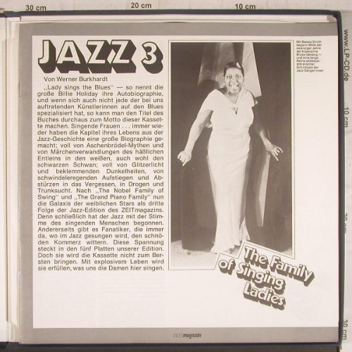 V.A.Zeitmagazin Exklusiv: Jazz 3:The Family of Singing Ladies, CBS(LSP 14 508), NL, Box,  - 5LP - F6322 - 12,50 Euro