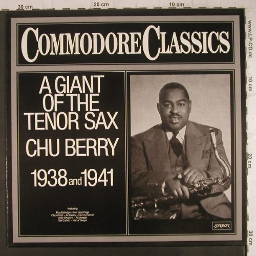 Berry,Chu: A Giant of Tenor Sax, 1938 & 1941, London/Commodore(6.24293 AG), D, 1980 - LP - F6473 - 6,00 Euro