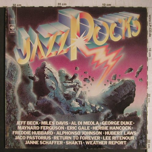 V.A.Jazz Rocks: Weather Report..Alphonso Johnson, CBS(88269), NL, Foc, 1977 - 2LP - F7325 - 7,50 Euro