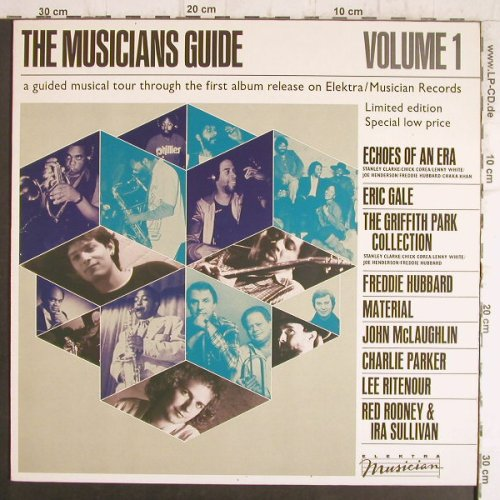 V.A.The Musicians Guide: Vol.1, Echoes of an Era...Material, Elektra Musician(MUS K  52 367), D, 1982 - LP - F8499 - 4,00 Euro