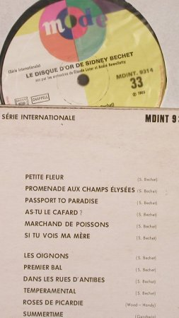 Bechet,Sidney: Le Disque D'Or, m-/vg+, Mode(MDINT 9314), F,  - LP - F9181 - 5,00 Euro