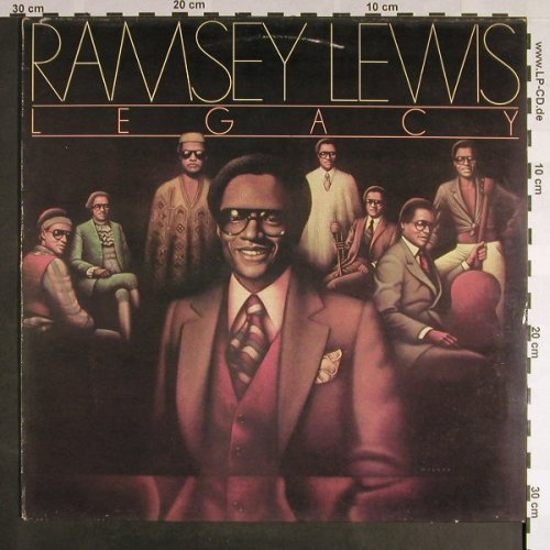 Lewis,Ramsey: Legacy,muster stamp on cover, CBS(82 964), A m-/vg+, 1978 - LP - F9377 - 7,50 Euro