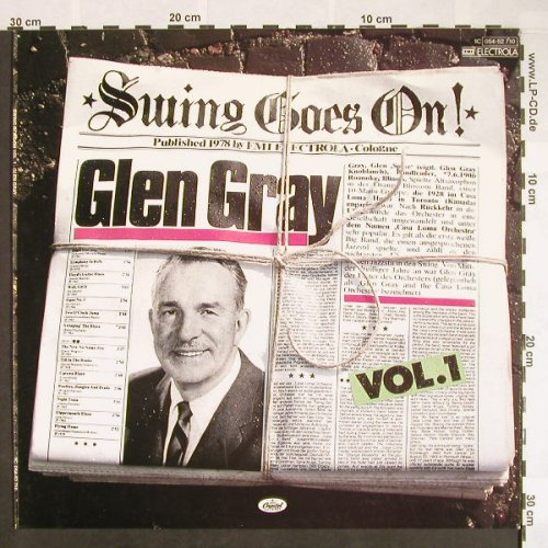 Gray,Glen: Swing Goes On Vol.1, Capitol(054-52 710), D, Ri 1978,  - LP - F9642 - 6,00 Euro