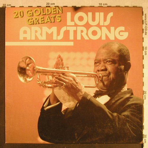 Armstrong,Louis: 20 Golden Greats, Astan(20056), D,  - LP - H1077 - 5,00 Euro