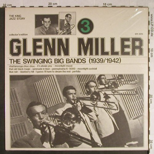 Miller,Glenn: The Swinging Big Bands(1939/1942), Joker, FS-New(SM 3619), I, Vol.3, 1974 - LP - H1094 - 6,00 Euro