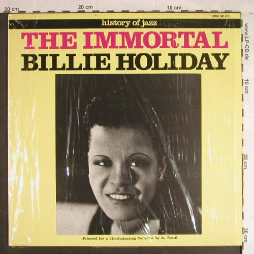 Holiday,Billie: The Immortal, Joker(SM 3131), I, Ri, 1971 - LP - H1130 - 6,00 Euro