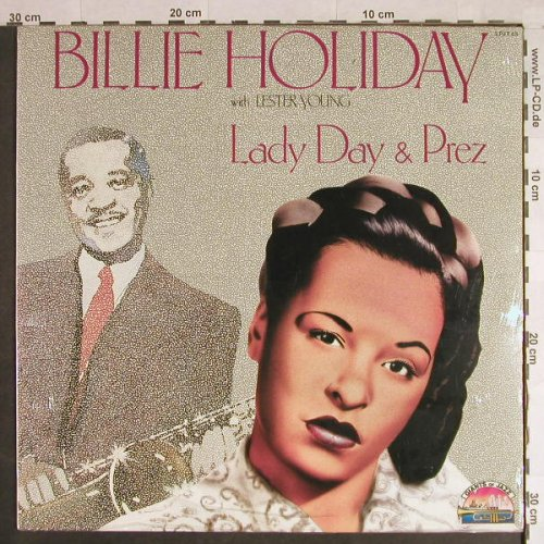 Holiday,Billie  with Lester Young: Lady Day & Prez, FS-New, Giants Of Jazz(LPJT 45), I, 1986 - LP - H1137 - 7,50 Euro