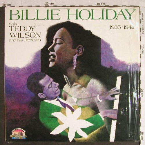 Holiday,Billie: 1935-42 with Teddy Wilson & Orch., Giants o.J(LPJT 86), I, Ri, 1988 - LP - H1138 - 6,00 Euro