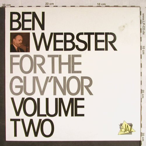 Webster,Ben: For the Guv'nor, Volume 2, m-/vg+, Yes to Jazz(10044), P, Ri, 1969 - LP - H1250 - 6,00 Euro