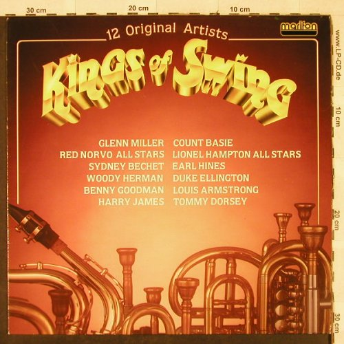 V.A.Kings of Swing: Glenn Miller...Tommy Dorsey, Marifon(47 956 XAT), D, 1980 - LP - H3163 - 4,00 Euro