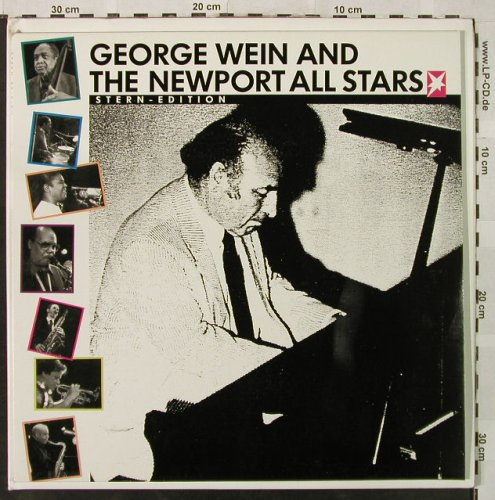 Wein,George / NewportAll Stars+V.A.: Stern Edition,Live, Mappe, Stern(001), D,  - LP*2 - H5032 - 7,50 Euro
