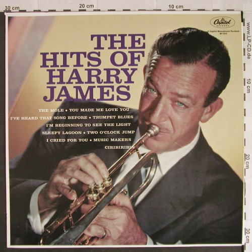 James,Harry: The Hits of, Capitol(M-1515), US, Ri,  - LP - H517 - 6,00 Euro