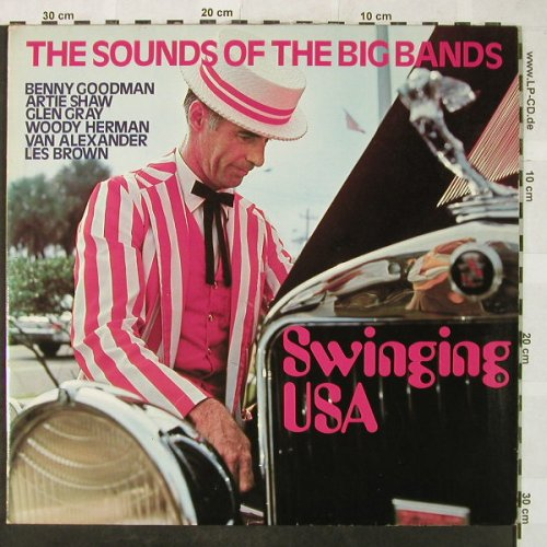 V.A.Swinging USA: The Sounds of the Big Bands, Foc, Capitol(64 704), D,Club Ed.,  - 2LP - H5216 - 6,00 Euro