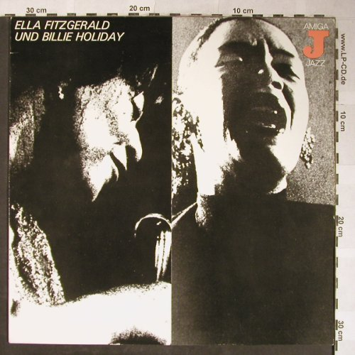 Fitzgerald,Ella u. Billie Holiday: Same, Amiga(8 55 084), DDR, 1980 - LP - H5546 - 6,50 Euro