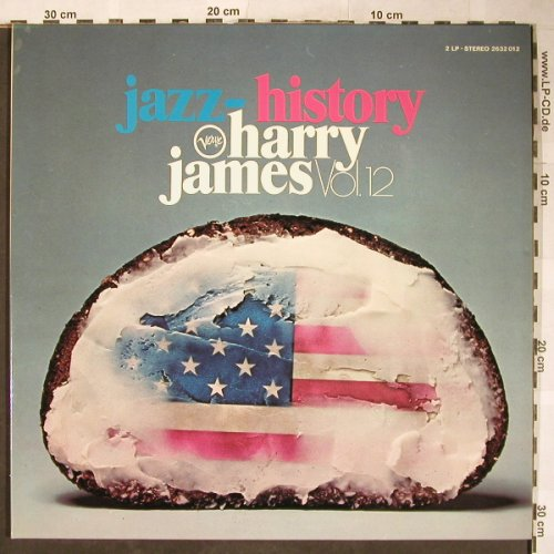James,Harry: Jazz-History Vol.12, Foc, Verve(2632 012), D,  - 2LP - H5800 - 20,00 Euro