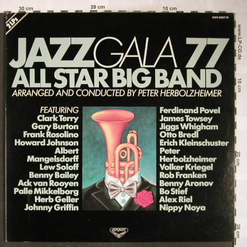 V.A.Jazz Gala 77: All Star Big Band, P.Herbolzheimer, London(GXH 3007/8), J, 1977 - 2LP - H6128 - 15,00 Euro
