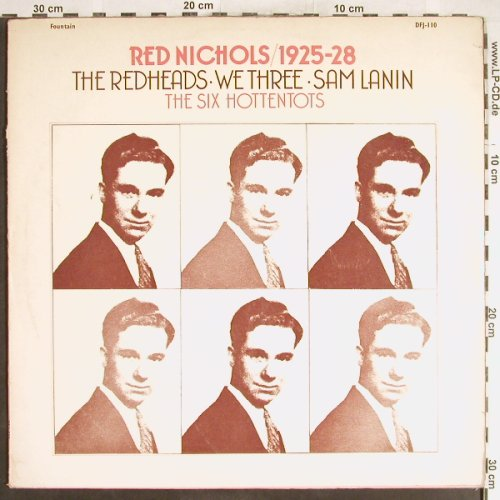Nichols,Red: 1925-28,The Redheads,We Three.., Fountain(DFJ-110), UK,vg+/vg+,  - 2LP - H6196 - 6,00 Euro