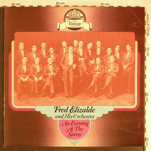 Elizalde,Fred  and his Orchestra: An Evening at the Savoy,Foc, Decca(DDV 5011/12), UK,vg+/vg+,  - 2LP - H6218 - 7,50 Euro