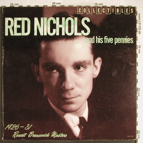 Nichols,Red & Five Pennies: 1926-1931 Rarest Brunsw.Masters, MCA(MCA-1518), US,vg+/vg+, 1982 - LP - H6233 - 5,00 Euro