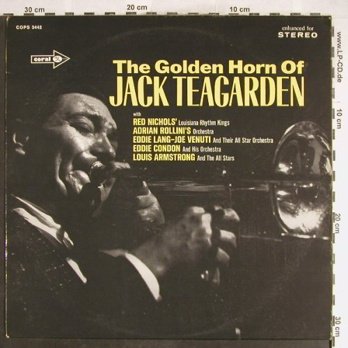 Teagarden,Jack: The Golden Horn Of, m-/vg+, MCA Coral(6.21851 AG), D, Ri,  - LP - H6242 - 5,00 Euro