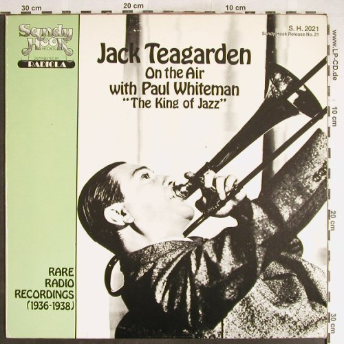 Teagarden,Jack: On the Air, w.Paul Whiteman, Sandy Hook(S.H.2021), US,  - LP - H6248 - 5,00 Euro