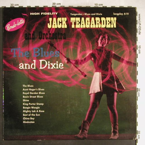 Teagarden,Jack & his Orch.: The Blue and Dixie, VG+/vg+, Rondolette(A18), US,  - LP - H6260 - 4,00 Euro
