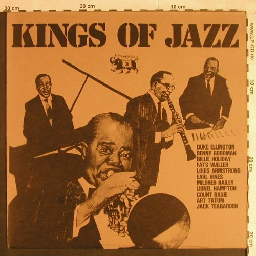 V.A.Kings Of Jazz: Archive of Jazz Vol.3 (1972), Jazz-Line(101.551), I, Ri, 1980 - LP - H6263 - 5,00 Euro