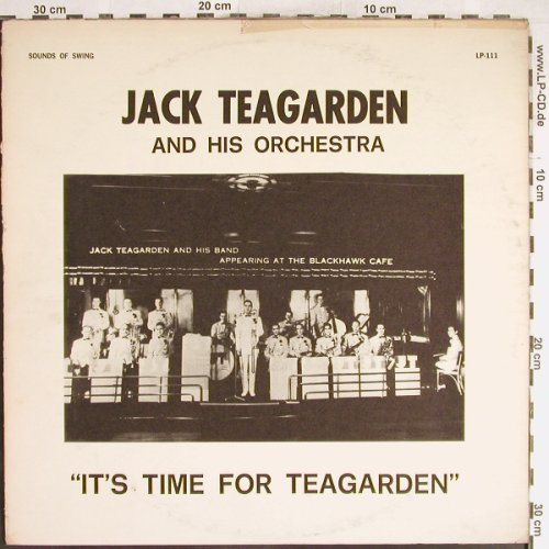 Teagarden,Jack: It's Time for Teagarden, vg+/VG-, Sound of Swing(LP-111), US,  - LP - H6265 - 4,00 Euro