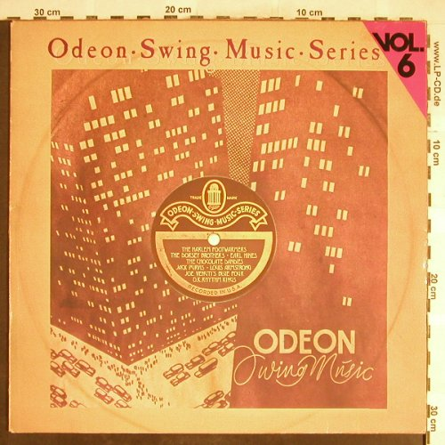 V.A.Odeon Swing Music Vol. 6: Louis Armstrong,Venuti,Jack Purvis, Emi Odeon(054-06 312), D, vg+/vg+,  - LP - H6394 - 4,00 Euro