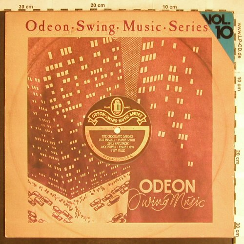 V.A.Odeon Swing Music Vol.10: Chocolate Dandies..Louis Russell, Emi Odeon(054-06 316), D, m-/vg+,  - LP - H6398 - 5,00 Euro