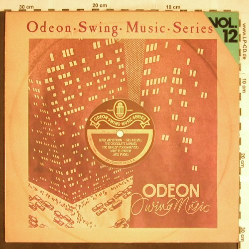 V.A.Odeon Swing Music Vol.12: Ellington&h.Orch...Jack Purvis, Emi Odeon(054-06 318), D,vg+/vg+,  - LP - H6400 - 4,00 Euro