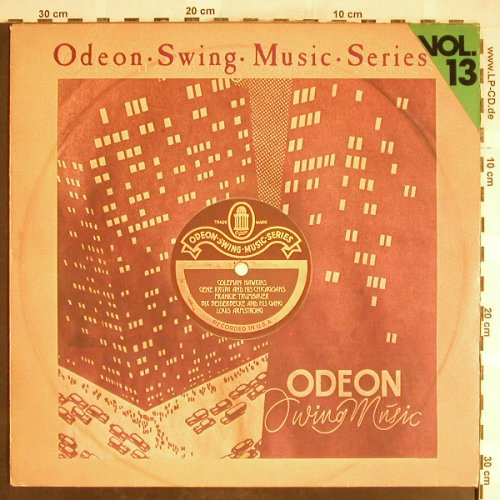 V.A.Odeon Swing Music Vol.13: Louis Armstrong...Fr.Trumbauer, Emi Odeon(054-06 319), D,  - LP - H6401 - 5,00 Euro