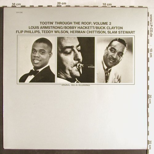 V.A.Tootin'Through the Roof;Vol.2: Louis Armstrong...Slam Stewart, Polydor,Musterplatte(2310 342), D, 1974 - LP - H6407 - 7,50 Euro