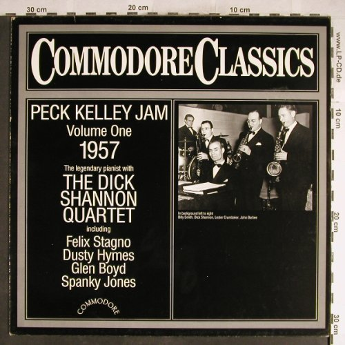 Kelley,Peck  Jam/Dick Shannon Q.: Vol.1, 1957, Commodore(6.25527), D, 1983 - LP - H6439 - 5,00 Euro