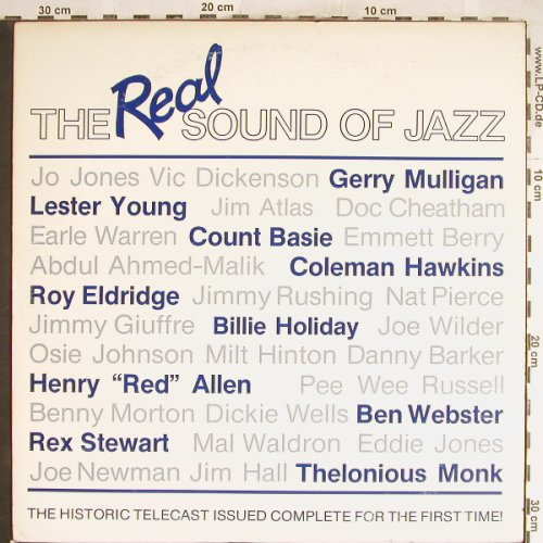 V.A.The Real Sound of Jazz: Count Basie...Pee Wee Russel, Pumpkin Prod.(116), US, 1985 - LP - H6522 - 4,00 Euro