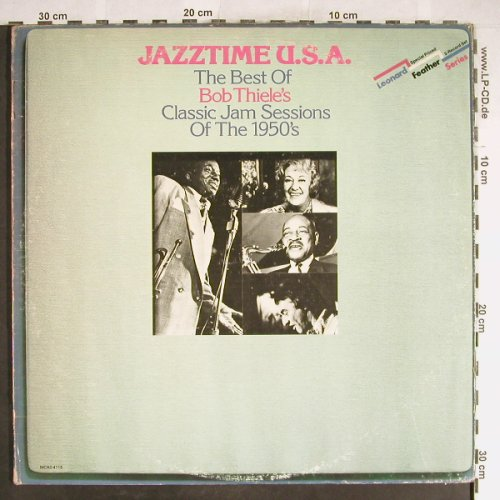 V.A.Jazztime U.S.A.: The best of Bob Thiele's JamS..50's, MCA(MCA2-4113), US,vg+/VG+,  - 2LP - H6524 - 7,50 Euro