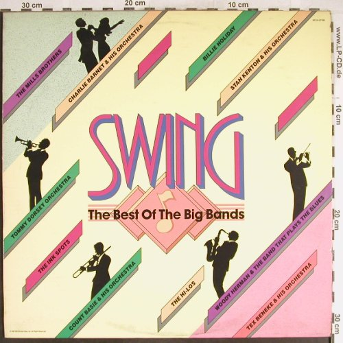 V.A.Swing - The Best of Big Band: Tommy Dorsey...The Hi-Los, MCA(MCA-25196), US, 1988 - LP - H6528 - 5,00 Euro
