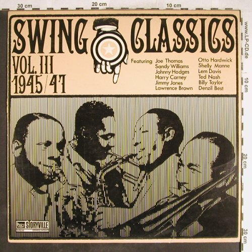 V.A.Swing Classics Vol.3, 1945-47: Sandy Williams Big Eight...,vg+/vg+, Storyville(SLP 808), UK,  - LP - H6560 - 3,00 Euro