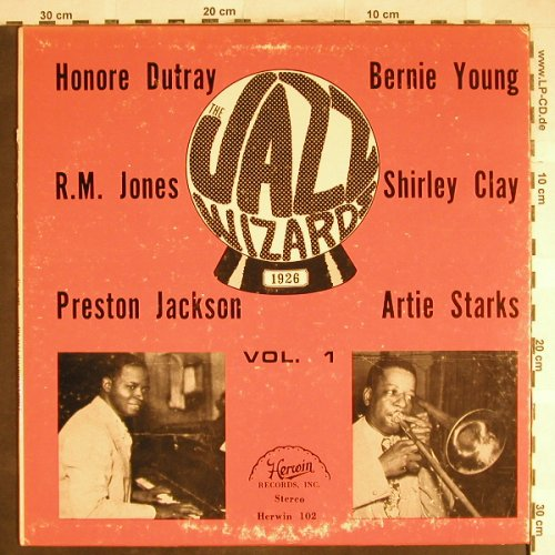 V.A.The Jazz Wizards 1926 Vol.1: Preston Jackson...Wallie Coulter, Herwin(H-102), US,vg+/vg,  - LP - H6587 - 3,00 Euro
