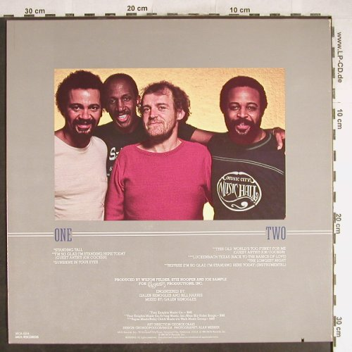 Crusaders: Standing Tall, MCA(5254), US, co, 1981 - LP - H6713 - 6,00 Euro