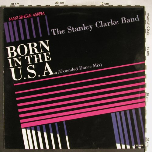 Clarke Band,Stanley: Born In The USA *2/Campo Americano, Epic(A 12.6372), NL, 1985 - 12inch - H6724 - 3,00 Euro