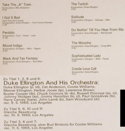 Ellington,Duke: Same, Amiga(8 55 450), DDR, 1975 - LP - H6752 - 5,00 Euro