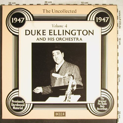 Ellington,Duke & his Orchestra: The Uncollected Vol.4, Decca(6.23578 AG), D, 1978 - LP - H6762 - 6,00 Euro