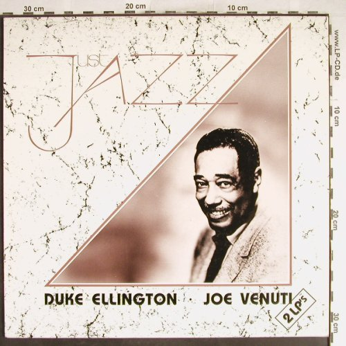 Ellington,Duke / Joe Venuti: Just Jazz (2on1), Fabri Ed.(DLP 1017), I,  - 2LP - H6763 - 7,50 Euro